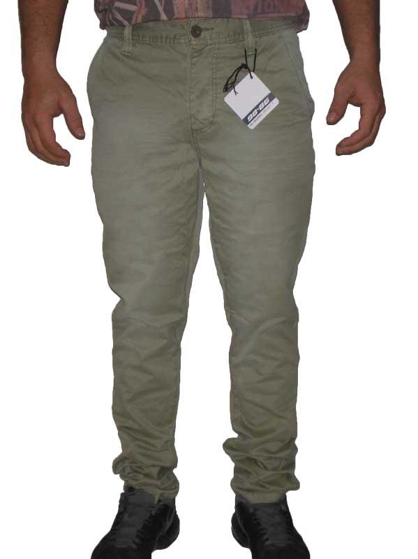 Ανδρικό παντελόνι chino σε ανοιχτό πράσινο