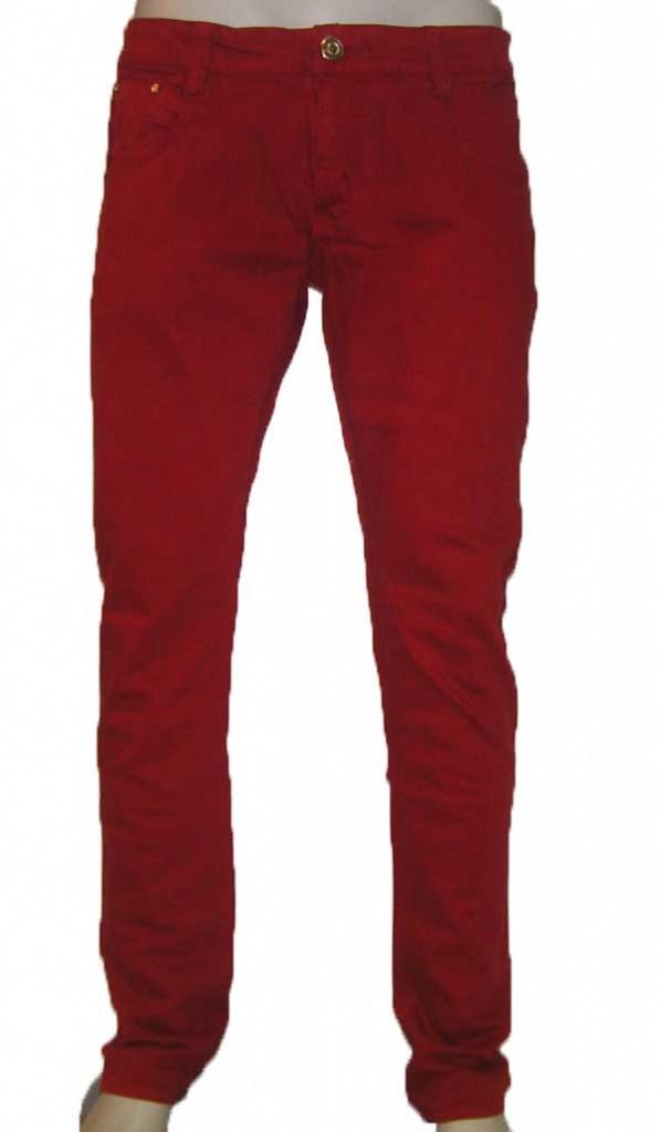 Color denim red