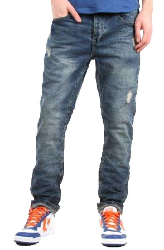 Ανδρικό jean παντελόνι με σκισίματα