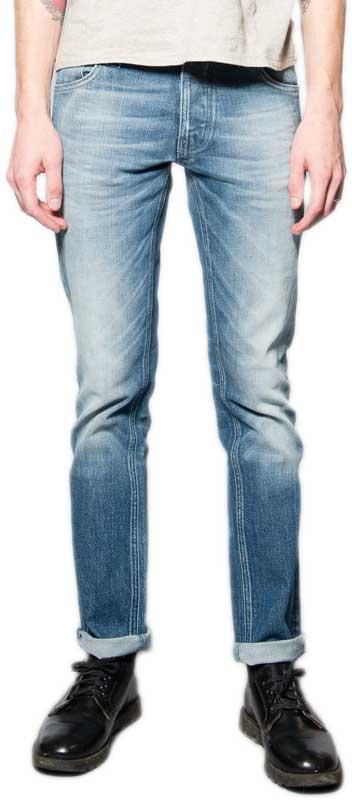 Nudie ανδρικό Thin Finn stretch jean