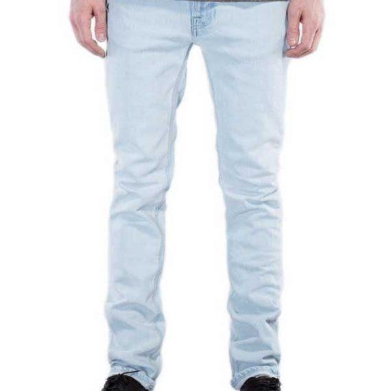 Nudie Jeans Thin Finn pale sea slim fit ανδρικό τζιν