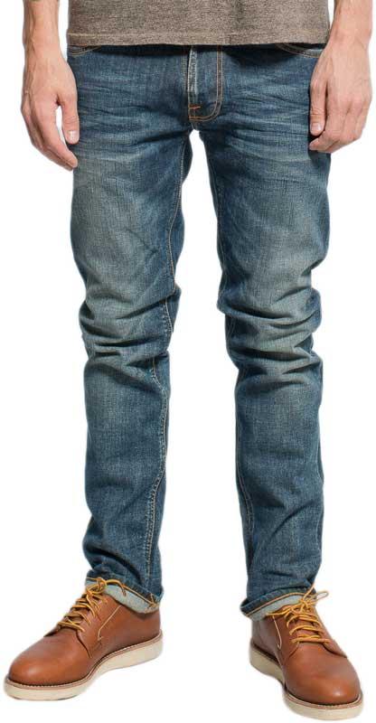 Nudie Jeans ανδρικό Thin Finn slim fit dusk indigo