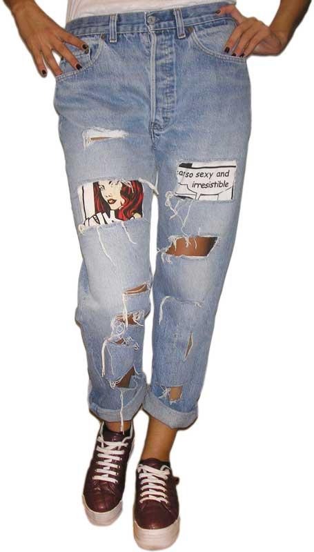 Ψηλόμεσο Vintage Jean