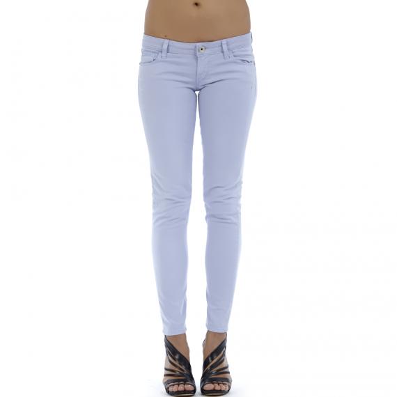 GUESS - Γυναικείο παντελόνι GUESS σιέλ