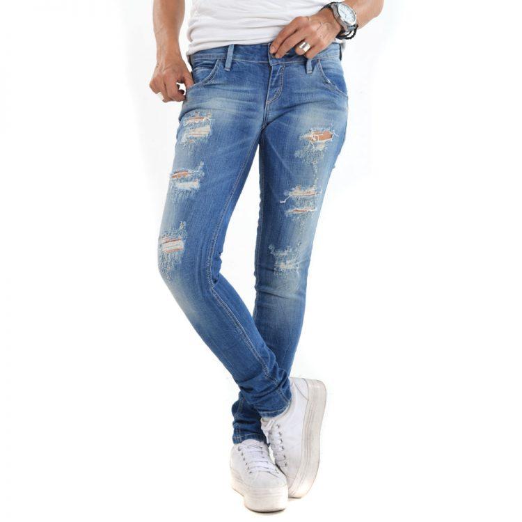Brokers Woman Jeans-101-2504 Denim
