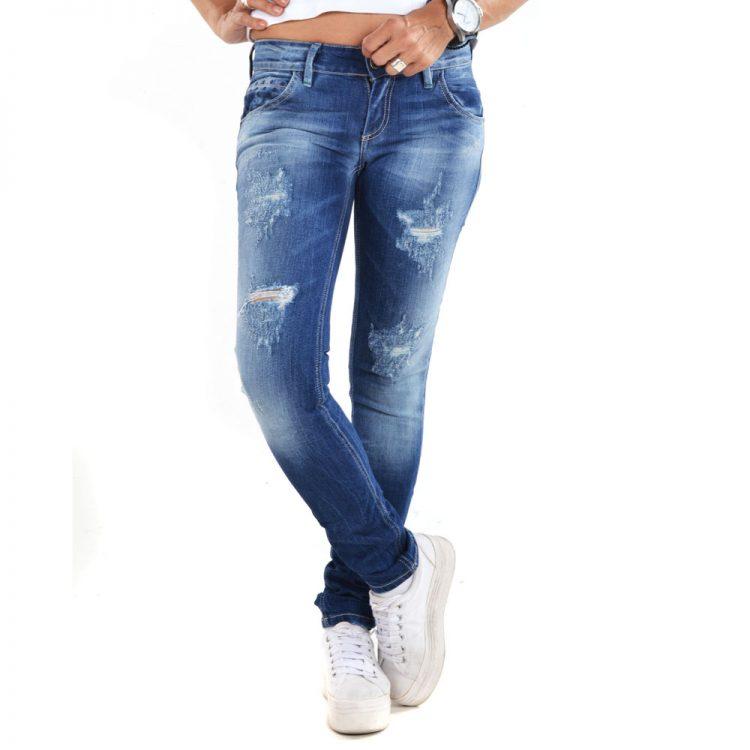 Brokers Woman Jeans-104-2510 Denim