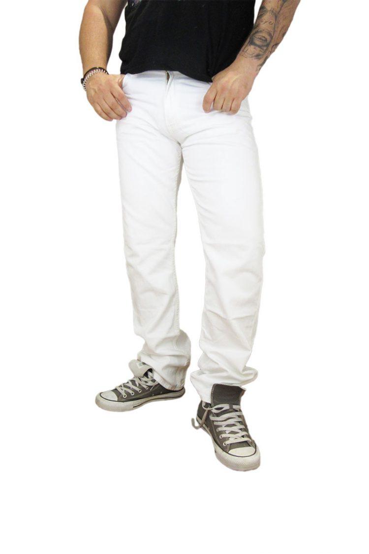 Levi's ανδρικό bootcut denim λευκό