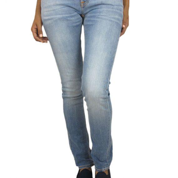 Nudie Jeans Τight long John γυναικείο τζιν saltwater indigo