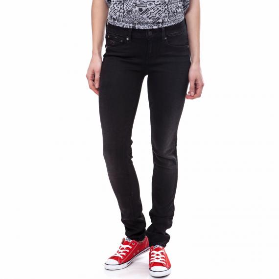 G-STAR RAW - Γυναικείο τζιν παντελόνι G-Star Raw 3301 μαύρο