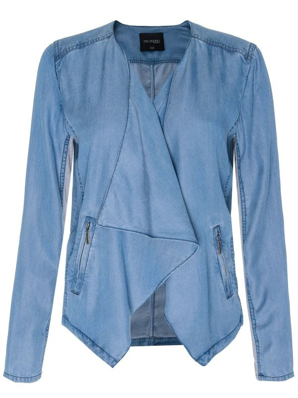 TOP SECRET γυναικειο τζιν σακακι