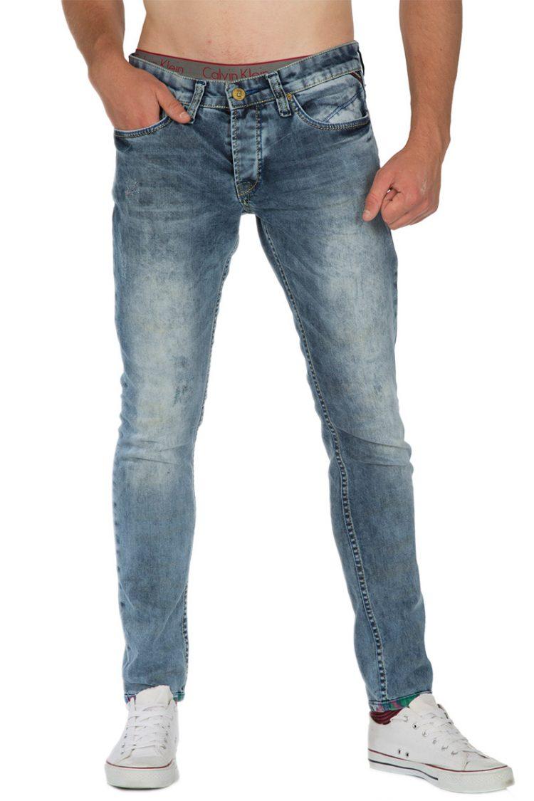 Ανδρικό slim fit jeans
