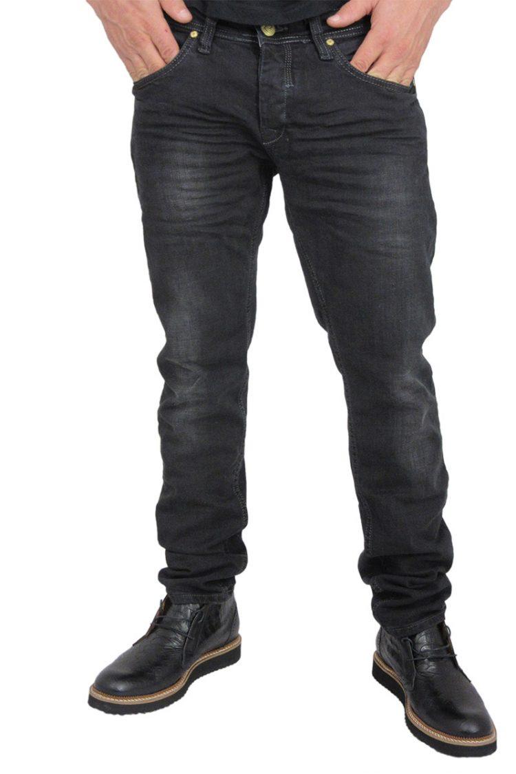 Ανδρικό παντελόνι jean μαύρο