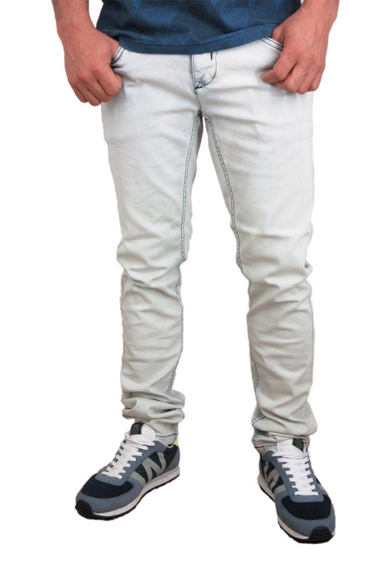 Anerkjendt ανδρικό slim fit jeans πολύ ξεβαμένο