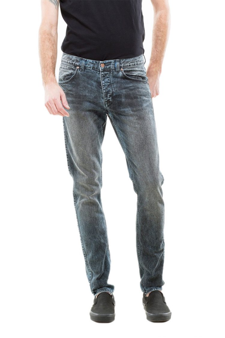 Dr Denim slim fit ανδρικό jeans Clark blue concrete