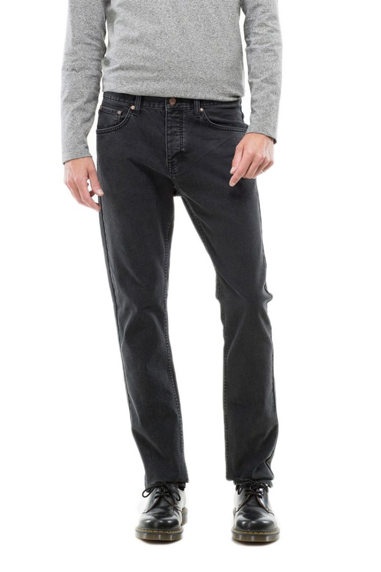 Dr Denim ανδρικό jeans Steve vintage μαύρο
