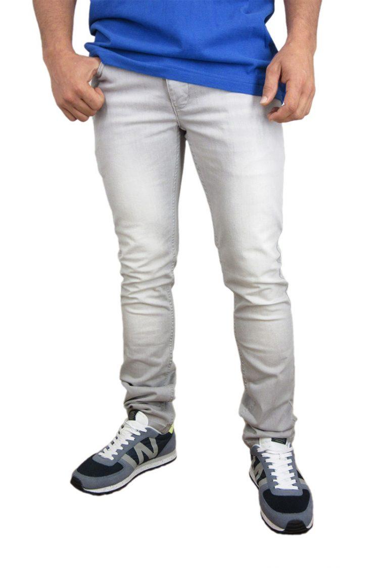 Humor Nigel skinny jeans ανοιχτό γκρι