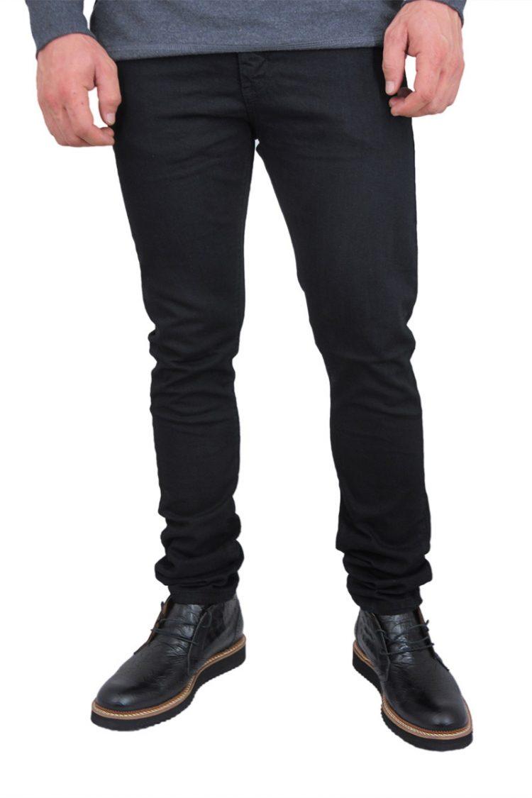 Rock & Religion ανδρικό skinny jeans Rodan μαύρο