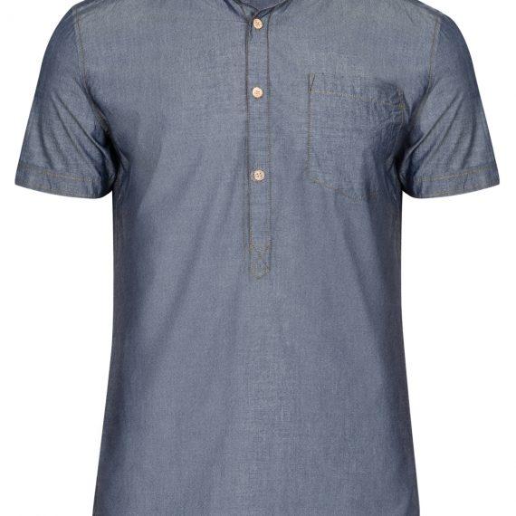 TOP SECRET τζιν μπλουζα στυλ πουκαμισο