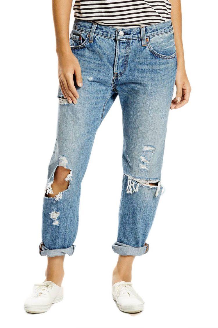 Γυναικείο LEVI'S 501® CT Jeans time gone by