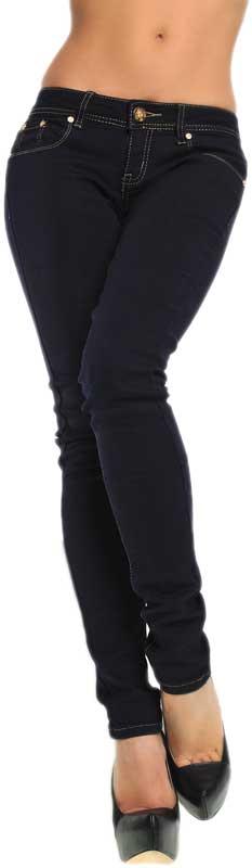 Γυναικείο blue black skinny jeans
