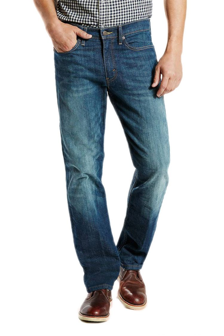 Ανδρικό LEVI'S 514™ straight fit stretch jeans midnight blue