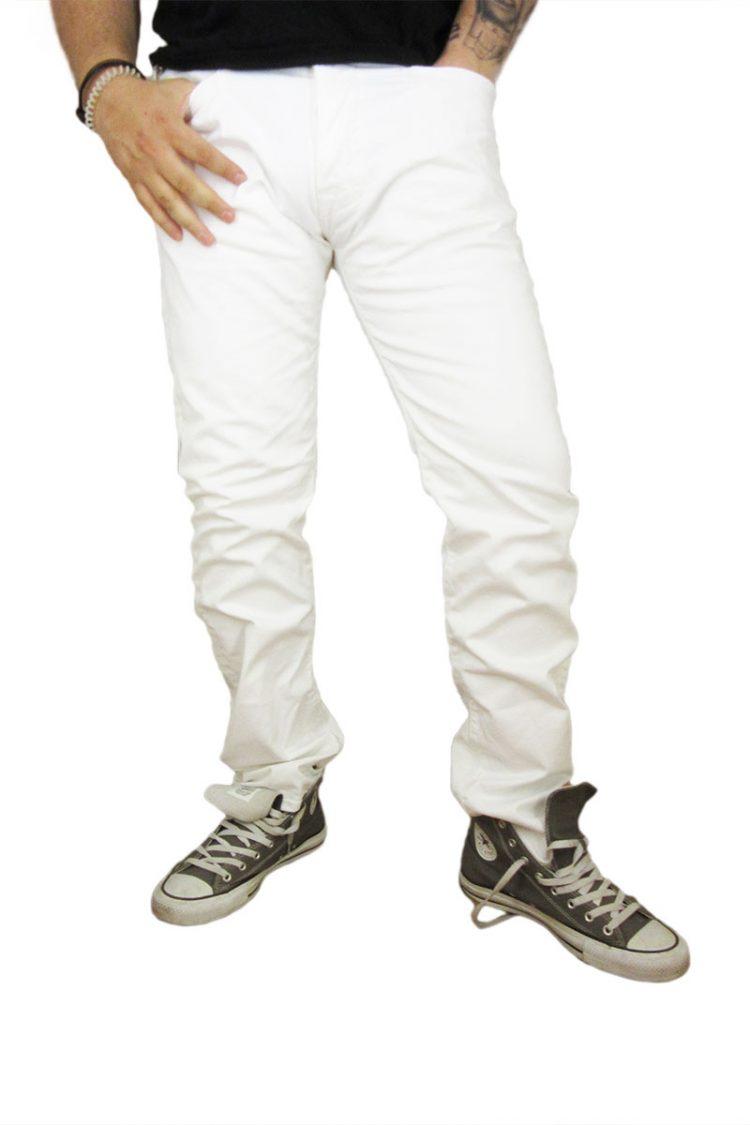 Replay ανδρικό jean λευκό