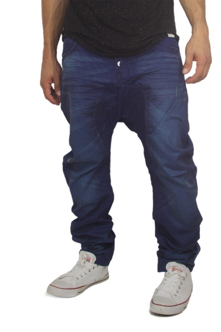 Humor Santiago jeans μπλε