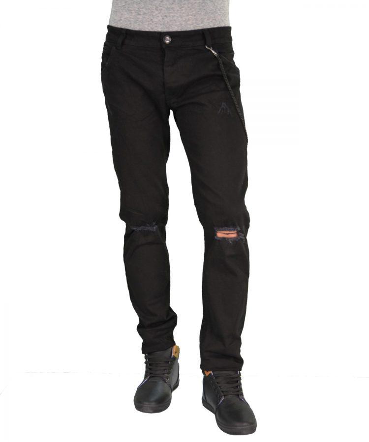 Stefan μαύρο τζην παντελόνι 2012K