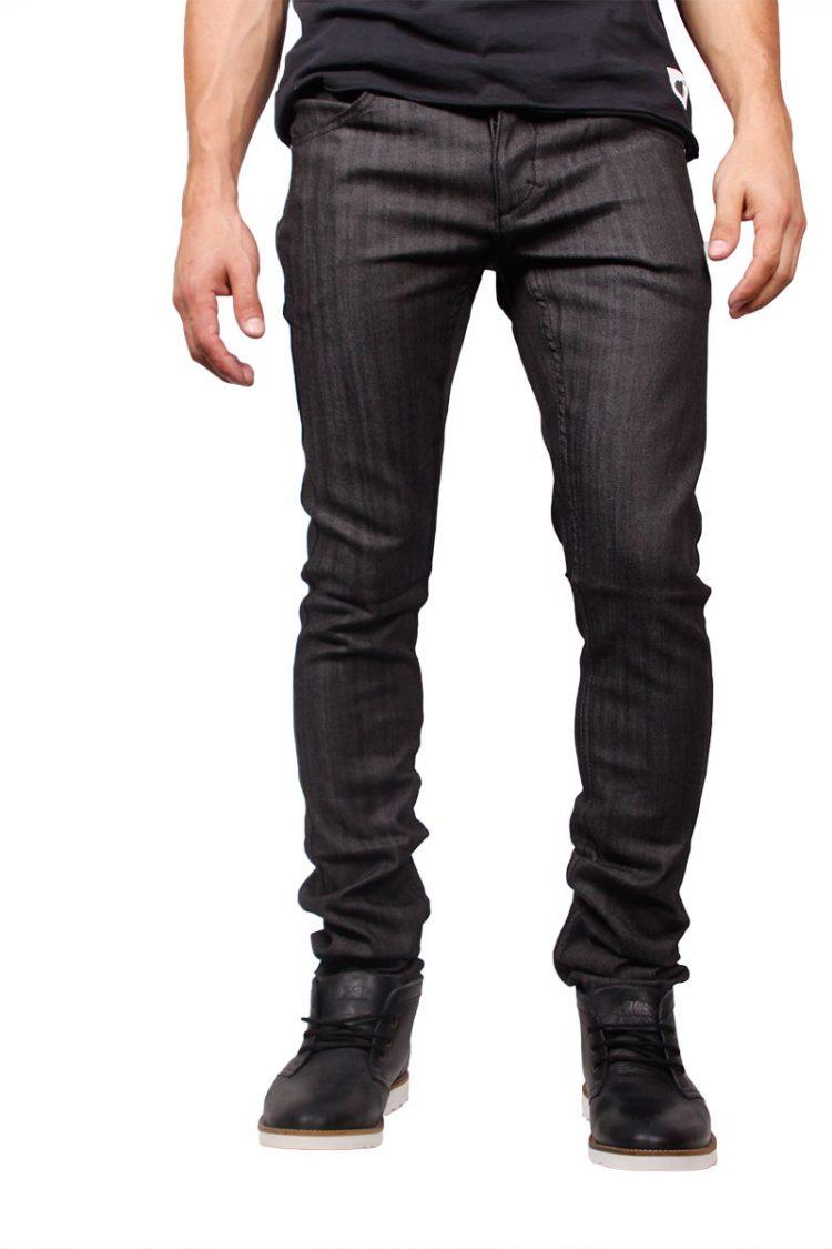 Humor skinny jeans Lenny μαύρο