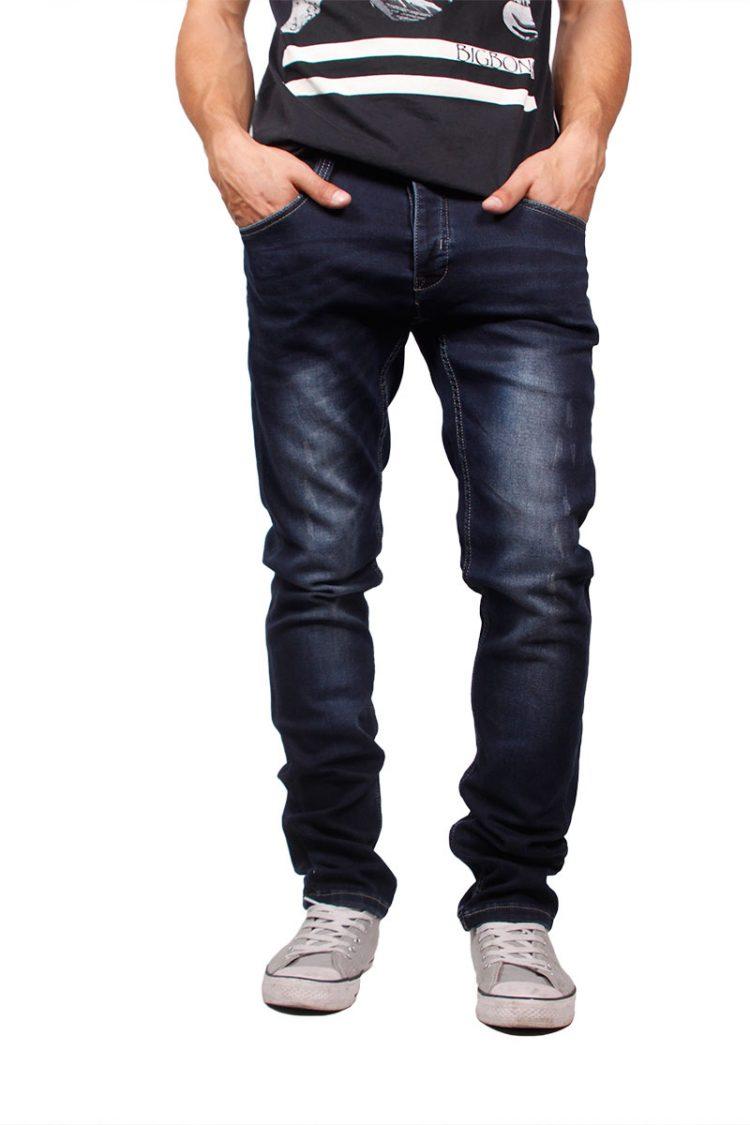 Anerkjendt skinny fit jeans Jean dark blue