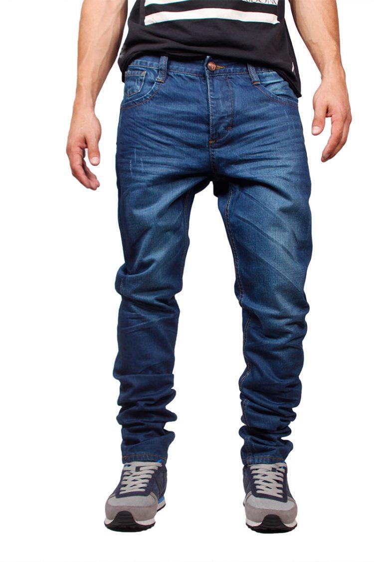 Humor slim fit jeans Dukky με εκδορές