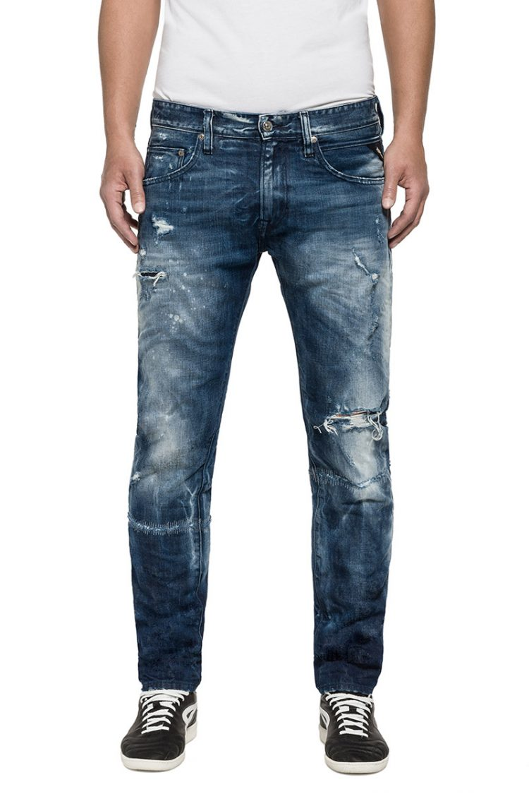 Replay ανδρικό Numasig tapered fit jeans