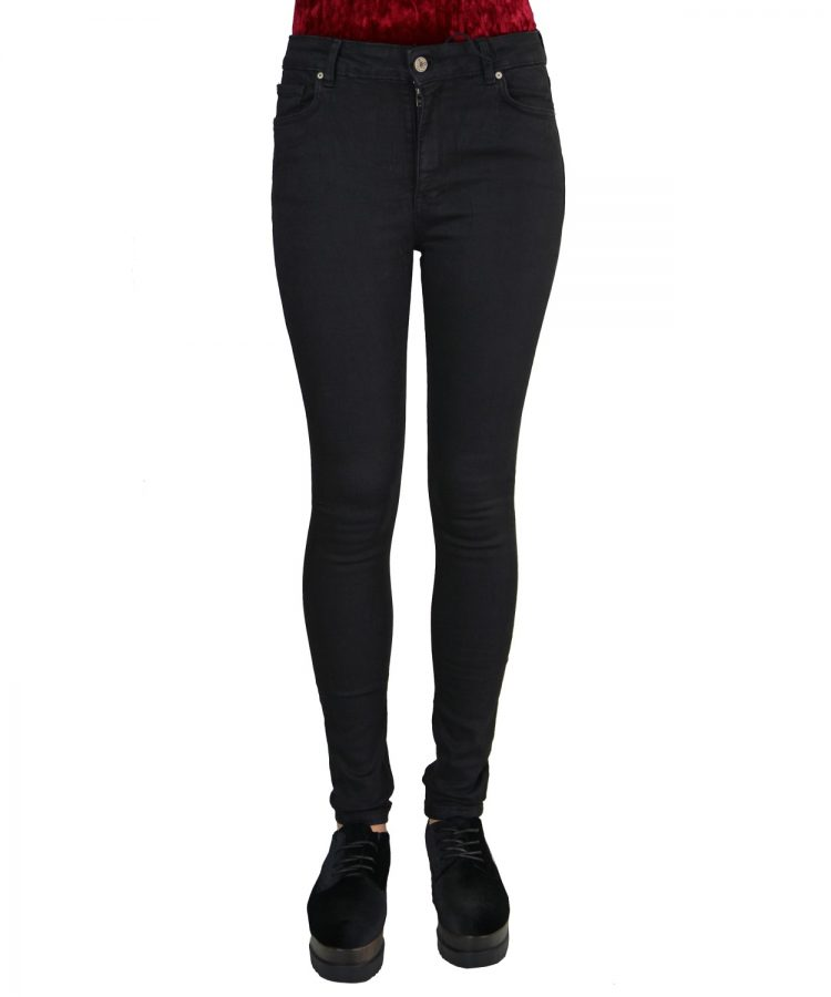 Μαύρο Παντελόνι Ψηλόμεσο UK0320