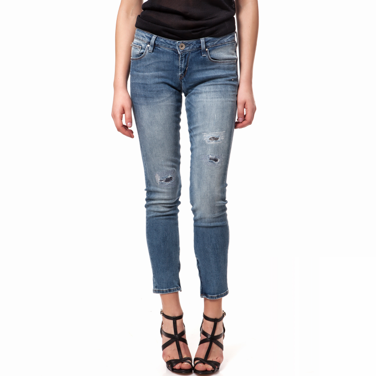 GUESS - Γυναικειό τζιν παντελόνι Guess μπλε