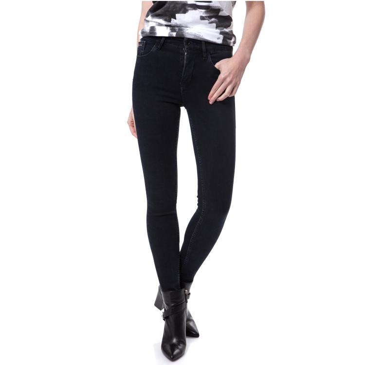 CALVIN KLEIN JEANS - Γυναικείο τζιν παντελόνι Calvin Klein Jeans μαύρο