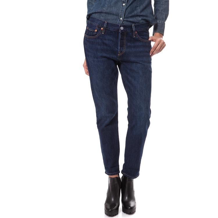 LEVI'S - Γυναικείο τζιν παντελόνι Levi's 501 CT μπλε