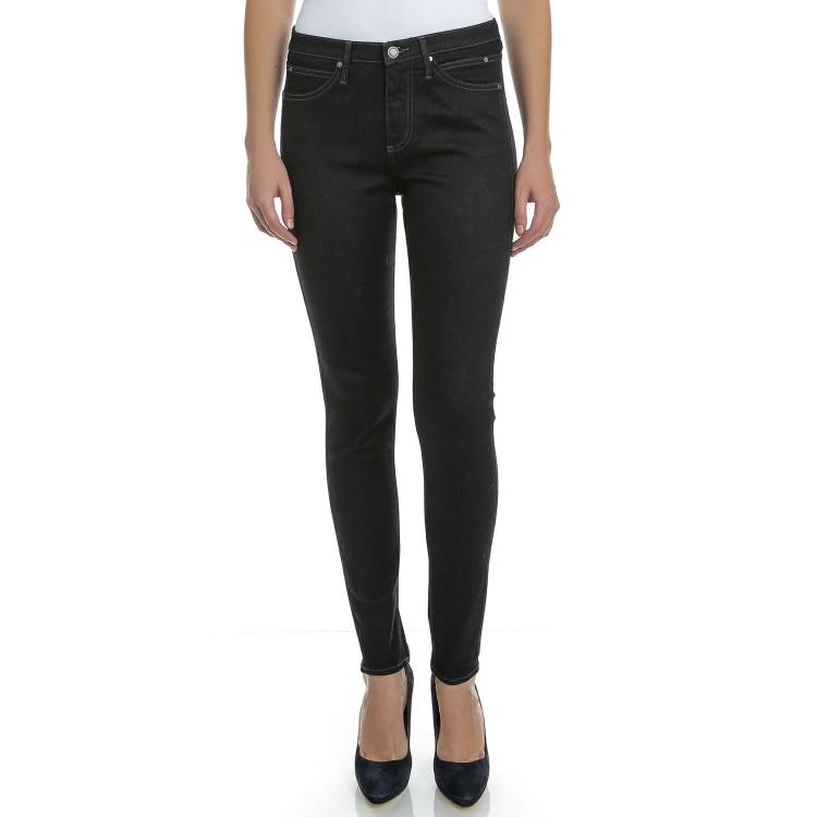 CALVIN KLEIN JEANS - Γυναικείο τζιν παντελόνι Calvin Klein Jeans Sculpted Skinny σκούρο μπλε