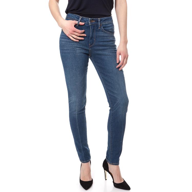 LEVI'S - Γυναικείο ψηλόμεσο τζιν παντελόνι Levi's 721 HIGH RISE SKINNY μπλε