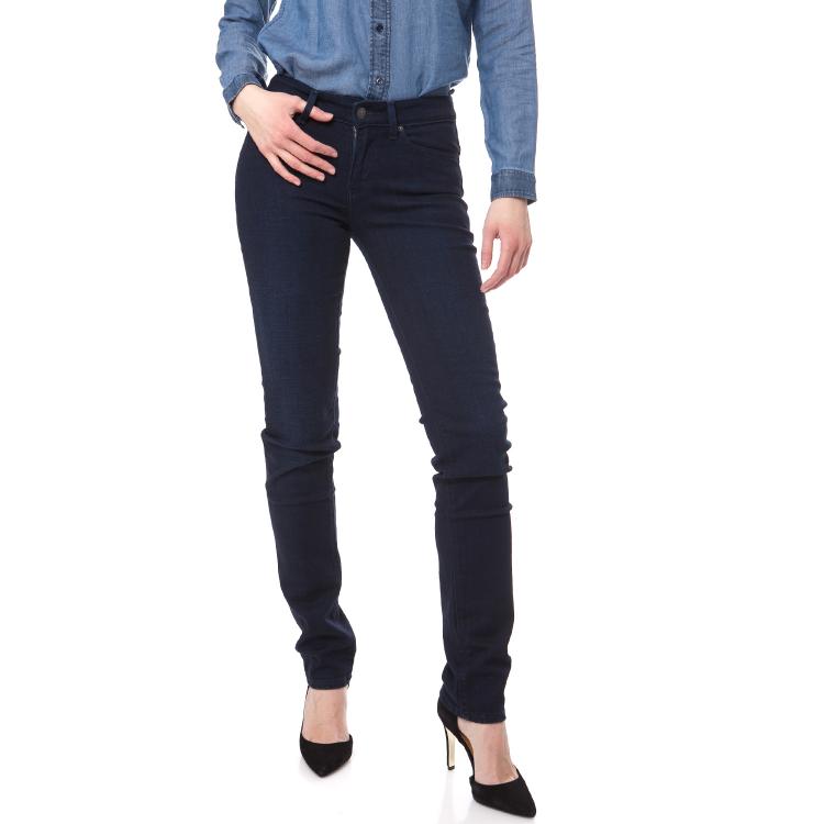 LEVI'S - Γυναικείο ψηλομέσο τζιν παντελόνι Levi's 712 SLIM σκούρο μπλε