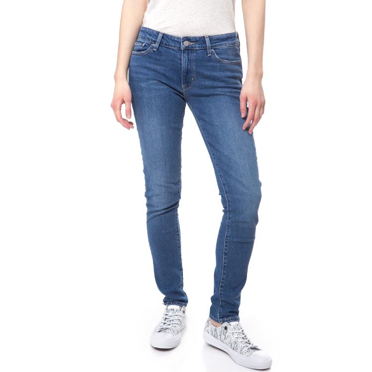 LEVI'S - Γυναικείο τζιν παντελόνι Levi's 711 SKINNY μπλε