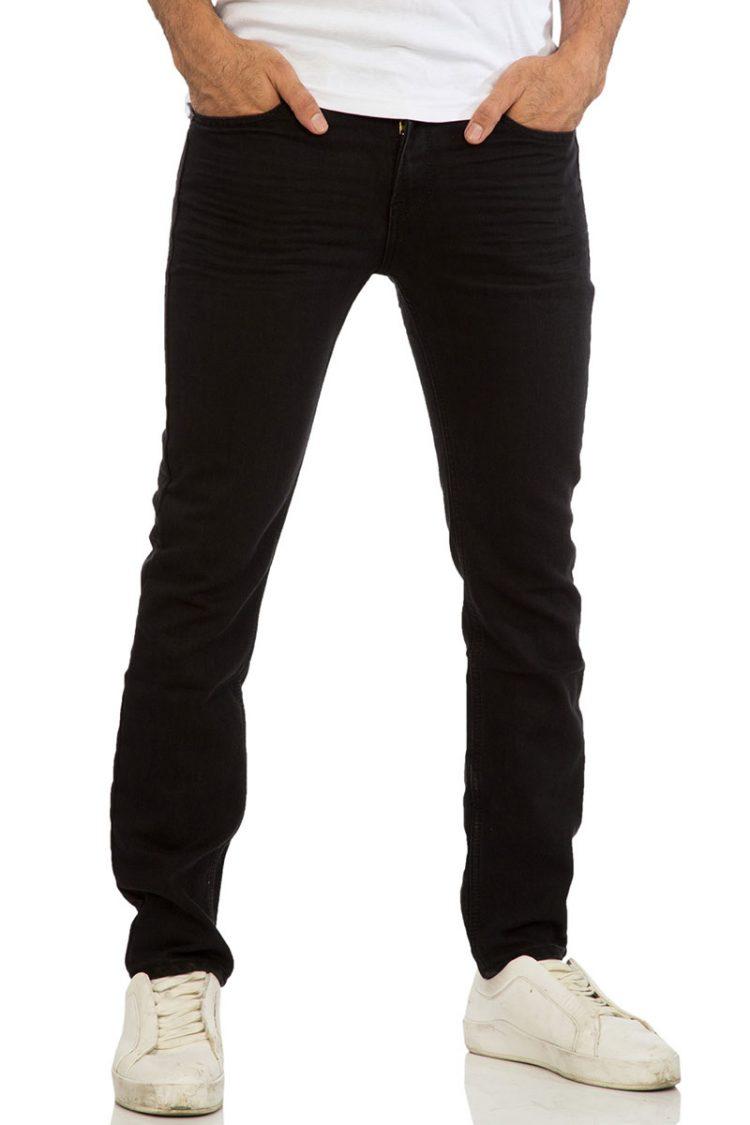 Ανδρικό slim fit jean μαύρο
