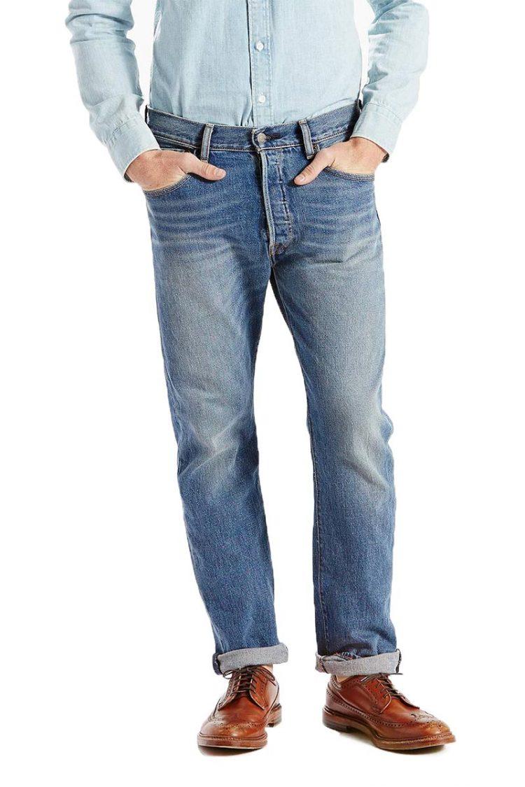 Ανδρικό LEVI'S 501® original fit stretch jeans The ben