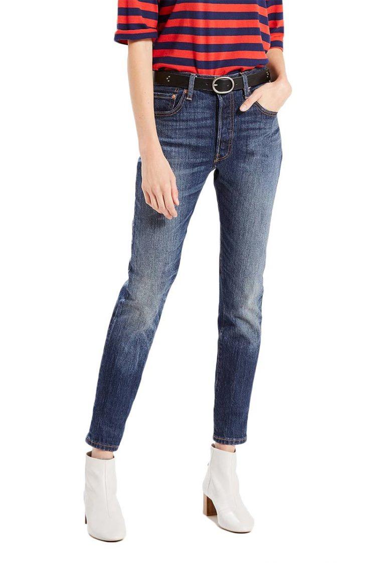 Γυναικείο LEVI'S 501® skinny Jeans supercharger