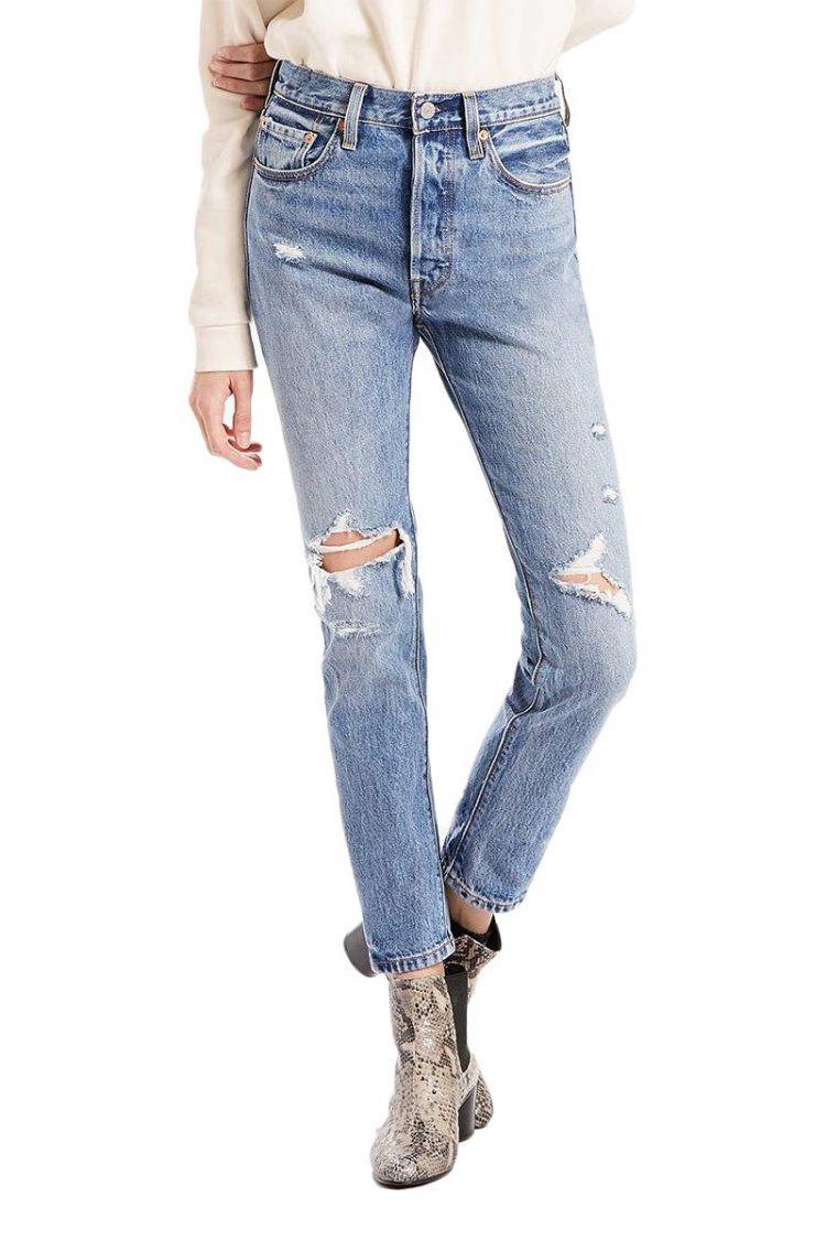 Γυναικείο LEVI'S 501® skinny Jeans old Hangouts