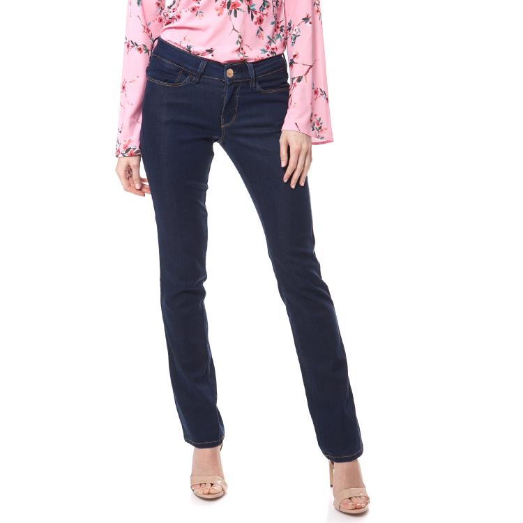 GUESS - Γυναικείο τζιν παντελόνι CIGARETTE MID FLUID INDIGO Guess μπλε