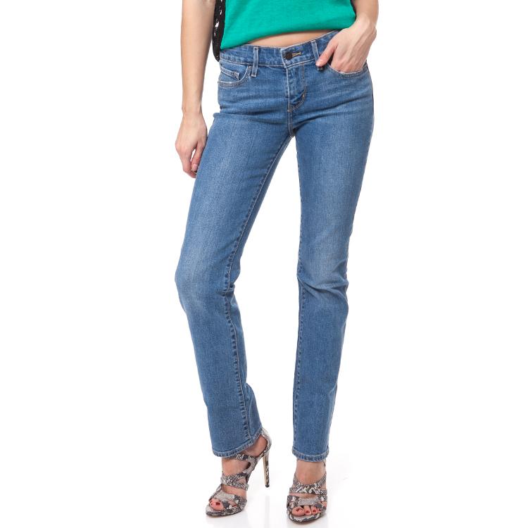 LEVI'S - Γυναικείο τζιν παντελόνι Levi's 714 μπλε