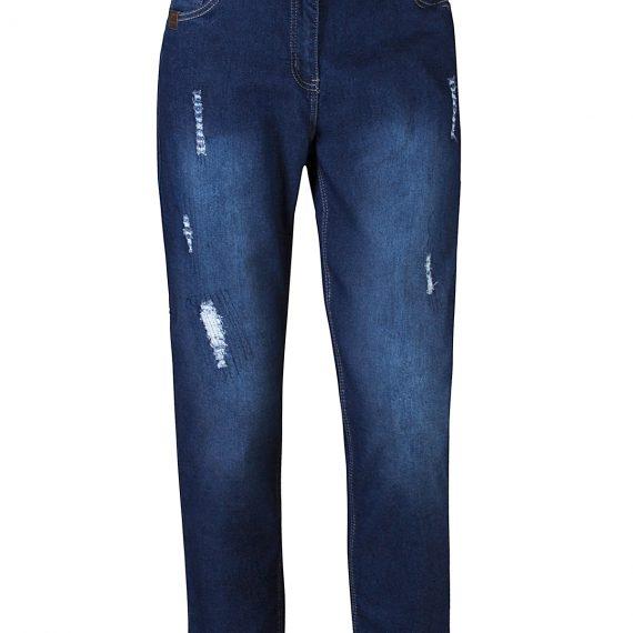 Τζιν παντελόνι με φθορές