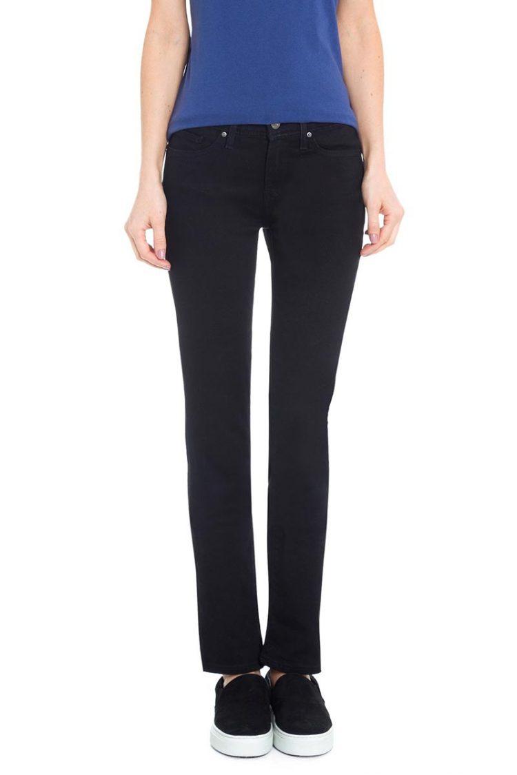 Γυναικείο LEVI'S 712™ slim Jeans soft black