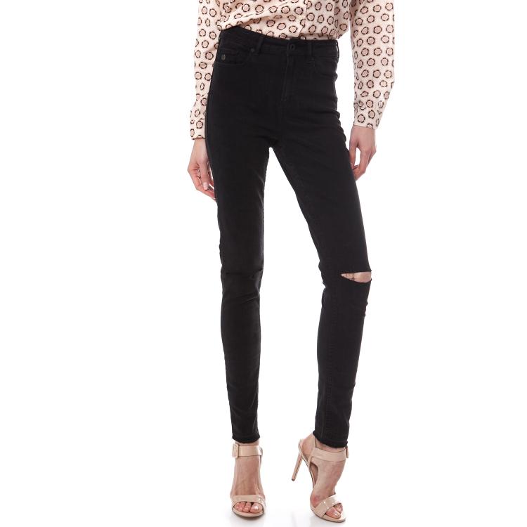 MAISON SCOTCH - Γυναικείο τζιν παντελόνι Maison Scotch Haut μαύρο
