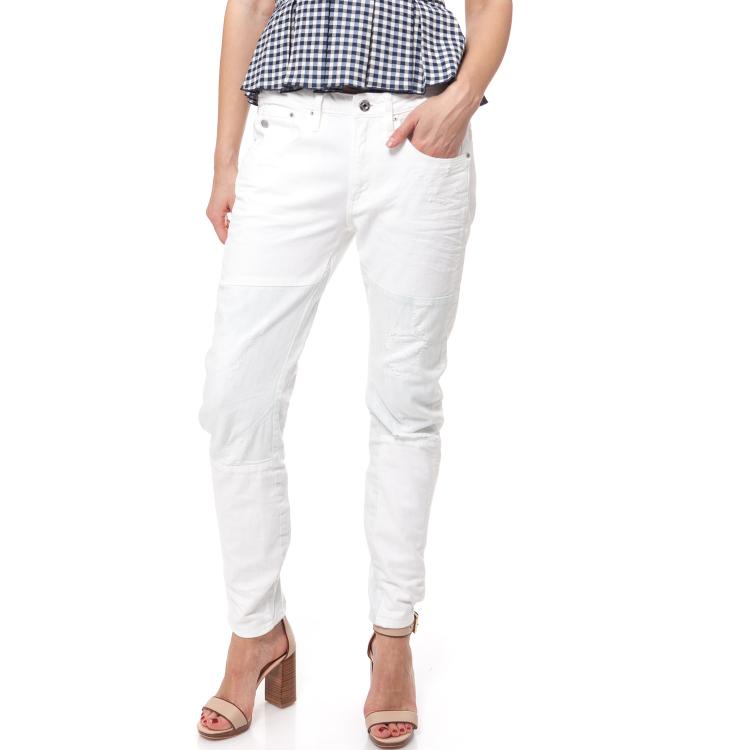 G-STAR RAW - Γυναικείο τζιν παντελόνι G-Star Raw λευκό
